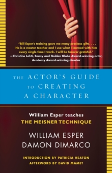 The Actor's Guide To Creating A Character, Paperback / softback Book
