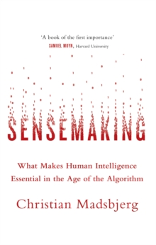 Sensemaking : What Makes Human Intelligence Essential in the Age of the Algorithm, Paperback / softback Book