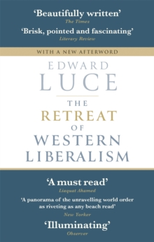 The Retreat of Western Liberalism, Paperback Book