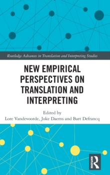 New Empirical Perspectives on Translation and Interpreting, Hardback Book