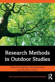 Research Methods in Outdoor Studies, Other book format Book