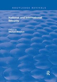 National and International Security, Paperback / softback Book