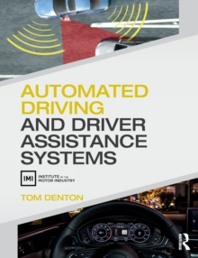 Automated Driving and Driver Assistance Systems, Paperback / softback Book