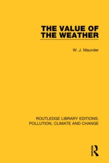 The Value of the Weather, Hardback Book