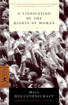 Mod Lib Vindication Of The Rights Of Woman, Paperback Book