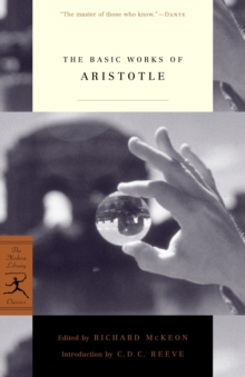 Mod Lib Basic Works Of Aristotle, Paperback Book