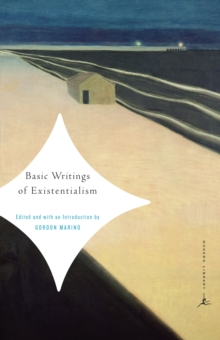 Mod Lib Basic Writings Of Existentialism, Paperback / softback Book