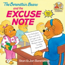 Berenstain Bears Excuse Note, Paperback Book