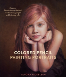 Colored Pencil Painting Portraits, Paperback Book