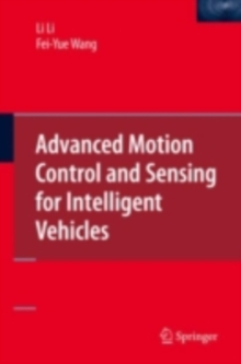 Advanced Motion Control and Sensing for Intelligent Vehicles, PDF eBook