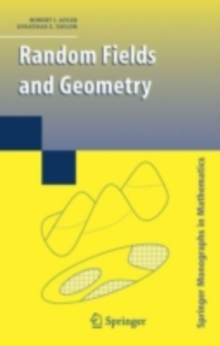 Random Fields and Geometry, PDF eBook