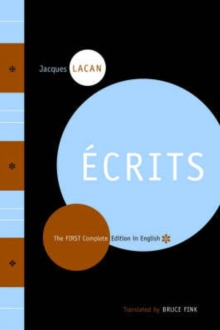 Ecrits : The First Complete Edition in English, Paperback / softback Book