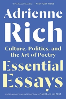 Essential Essays : Culture, Politics, and the Art of Poetry, Paperback / softback Book