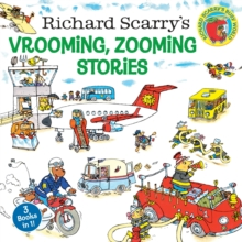Richard Scarry's Vrooming, Zooming Stories, Paperback Book