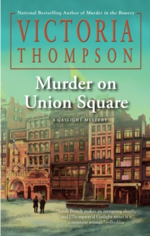 Murder on Union Square, Hardback Book