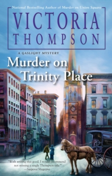 Murder On Trinity Place : A Gaslight Mystery #22, Hardback Book