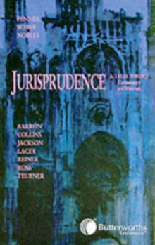 Introduction to Jurisprudence and Legal Theory : Commentary and Materials, Paperback / softback Book