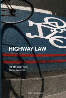 Highway Law, Hardback Book