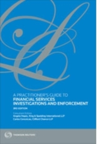 A Practitioner's Guide to Financial Services Investigations and Enforcement, Paperback / softback Book