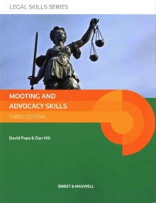 Mooting and Advocacy Skills, Paperback Book