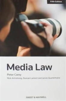 Media Law, Paperback / softback Book