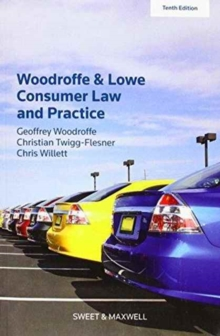 Woodroffe & Lowe's Consumer Law and Practice, Paperback / softback Book