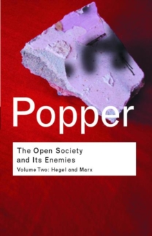 The Open Society and its Enemies : Hegel and Marx, Paperback / softback Book