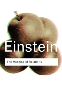 The Meaning of Relativity, Paperback / softback Book