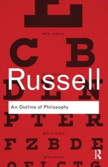 An Outline of Philosophy, Paperback / softback Book