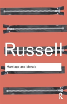 Marriage and Morals, Paperback / softback Book