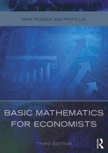 Basic Mathematics for Economists, Paperback Book