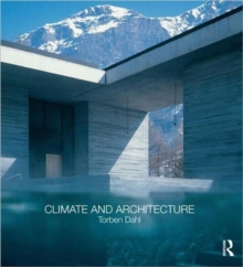 Climate and Architecture, Paperback Book