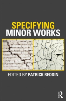 Specifying Minor Works, Paperback Book