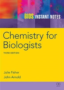 BIOS Instant Notes in Chemistry for Biologists, Paperback Book