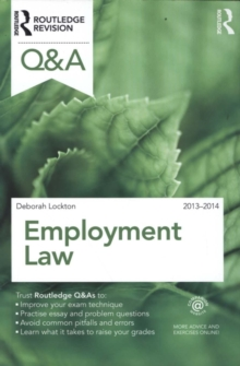 Q&A Employment Law 2013-2014, Paperback / softback Book