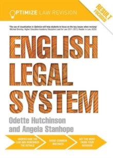 Optimize English Legal System, Paperback Book