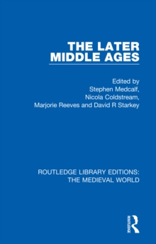 The Later Middle Ages, EPUB eBook