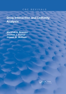 Drug Interaction & Lethality Analysis, EPUB eBook