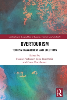 Overtourism : Tourism Management and Solutions, EPUB eBook