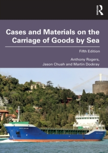 Cases and Materials on the Carriage of Goods by Sea, EPUB eBook