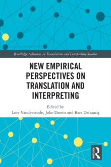 New Empirical Perspectives on Translation and Interpreting, PDF eBook