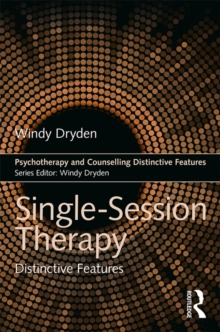 Single-Session Therapy : Distinctive Features, EPUB eBook