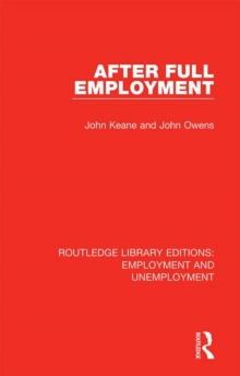 After Full Employment, PDF eBook