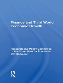 Finance And Third World Economic Growth, PDF eBook
