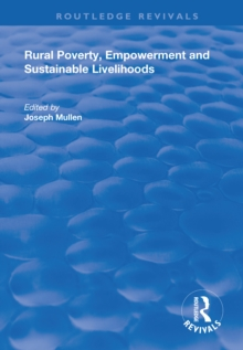Rural Poverty, Empowerment and Sustainable Livelihoods, PDF eBook