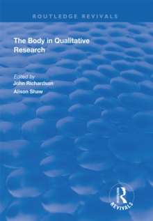 The Body in Qualitative Research, EPUB eBook