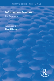 Information Sources for Teachers, EPUB eBook