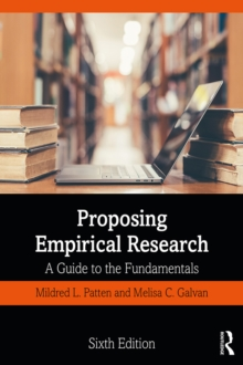 Proposing Empirical Research : A Guide to the Fundamentals, EPUB eBook