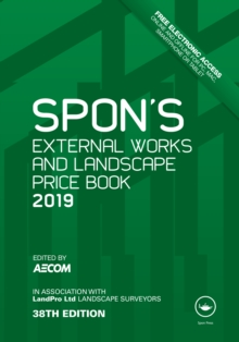 Spon's External Works and Landscape Price Book 2019, PDF eBook