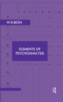 Elements of Psychoanalysis, PDF eBook